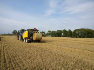 Great success of the straw and chaff harvesting demo day in